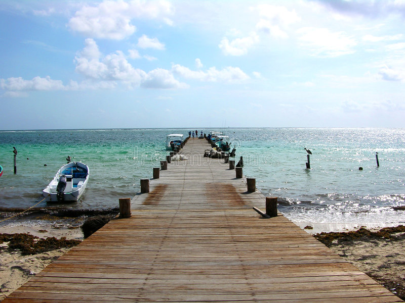 Puerto Morelos, Quintana Roo, México, 03 fotos de archivo libres de regalías