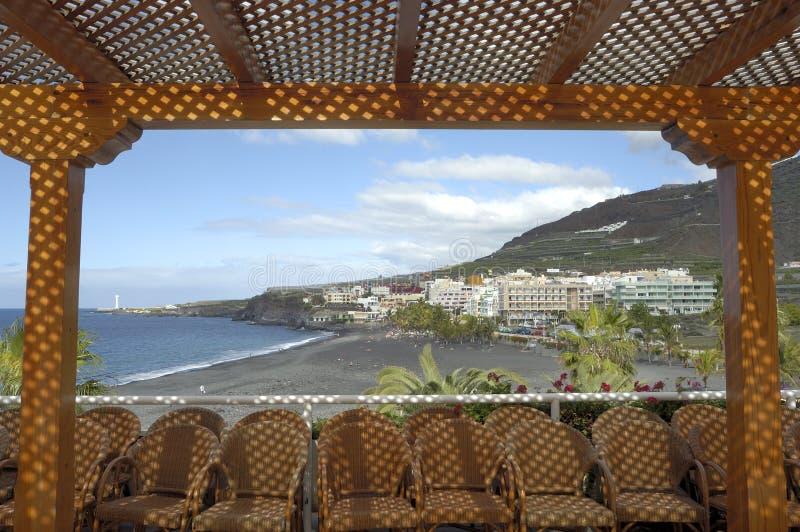 Puerto Naos Canary Islands royalty free stock photography