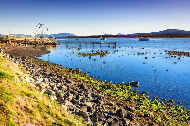Puerto Natales, Chile, Suramérica imagen de archivo libre de regalías