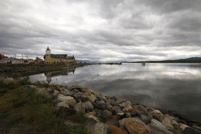 Puerto Natales Patagonië Chili stock foto