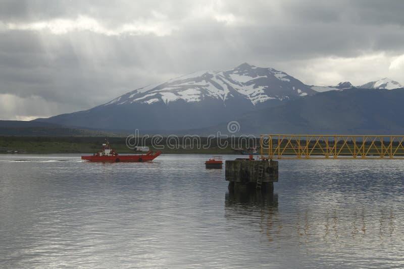 Puerto Natales Patagonië Chili royalty-vrije stock fotografie
