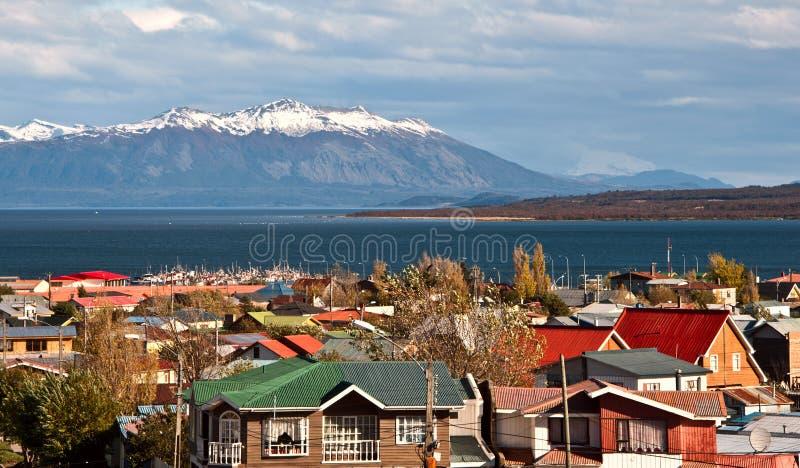 Puerto Natales, Patagonia, Chile fotografía de archivo