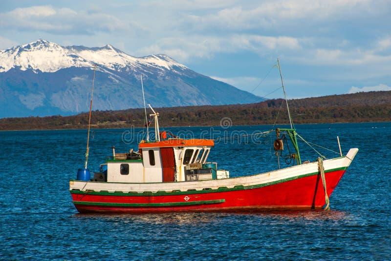 Puerto Natales, Patagonia, o Chile foto de stock royalty free