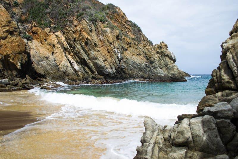 Puerto paraiso, escondido, misterioso, hermoso, relajante arkivfoton