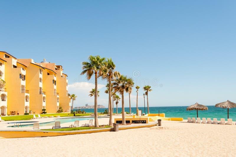 Puerto Penasco,普遍的假日目的地 免版税图库摄影