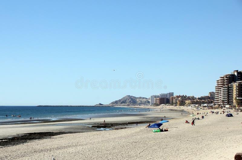 Puerto Penasco över havet av Cortez royaltyfria foton