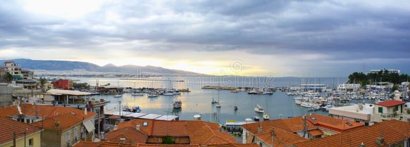 Puerto pintoresco imagenes de archivo