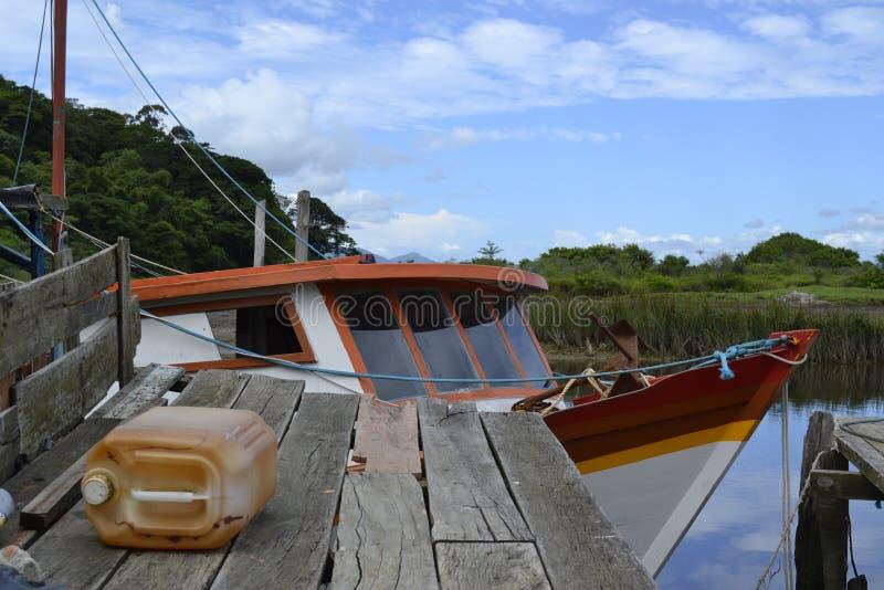 Puerto pobre foto de archivo libre de regalías