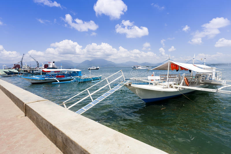 Puerto Princesa, Palawan, Filipiny obraz stock