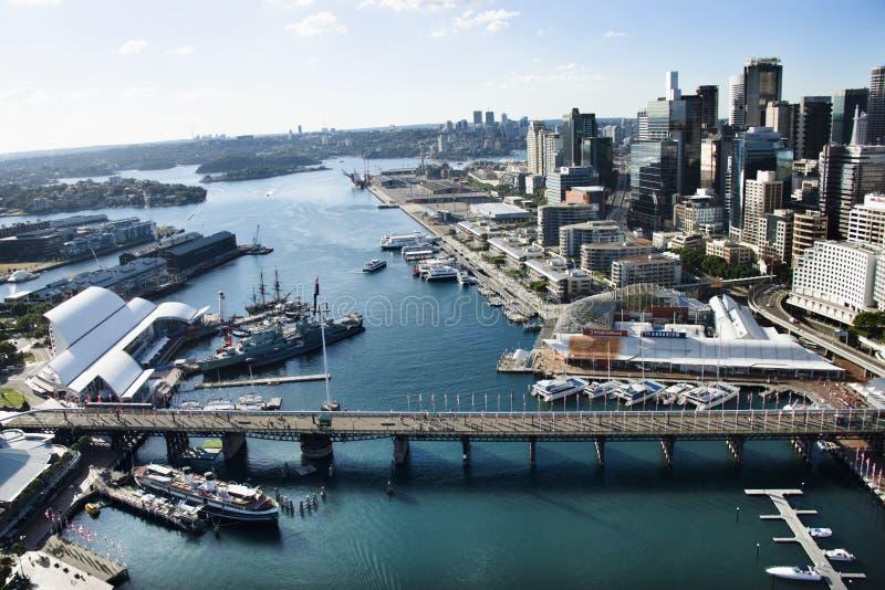 Puerto querido, Australia. fotos de archivo libres de regalías