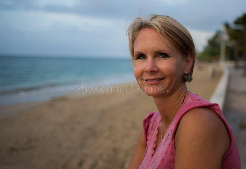 Puerto Ricaanse Lange strandgolf stock afbeelding