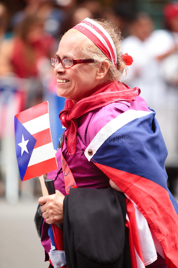 Download Puerto Rican Day Parade editorial stock photo. Image of flag - 19942223