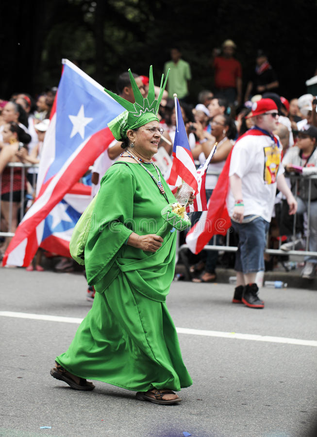 Download Puerto Rican Day Parade editorial stock image. Image of rican - 25333214