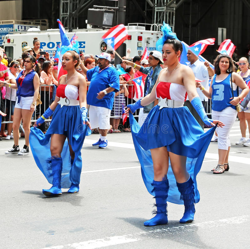 Download Puerto Rican Day Parade editorial stock image. Image of crowd - 31541944