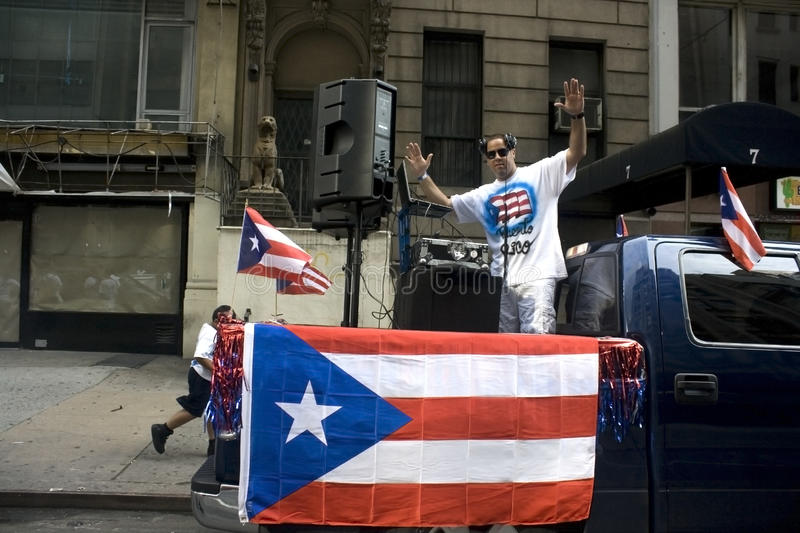 Download Puerto Rican Day Parade; NYC 2012 Editorial Image - Image: 25217095