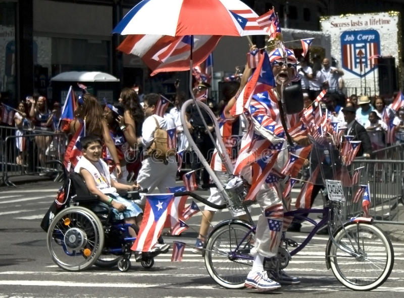 Download Puerto Rican Day Parade; NYC 2012 Editorial Stock Image - Image of costumes, manhattan: 25217114