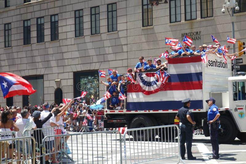 2014 Puerto Rican Day Parade Editorial Photography