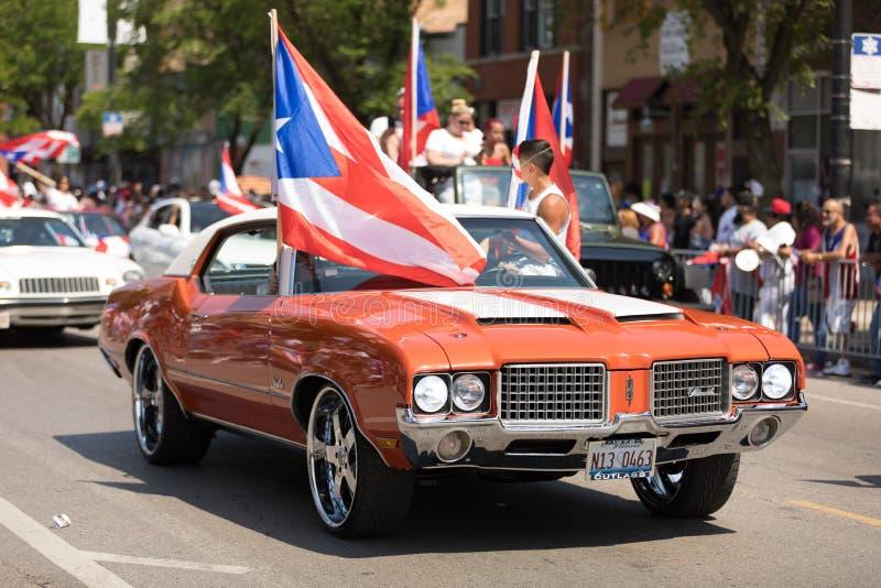 Puerto Rican osob parada zdjęcie stock