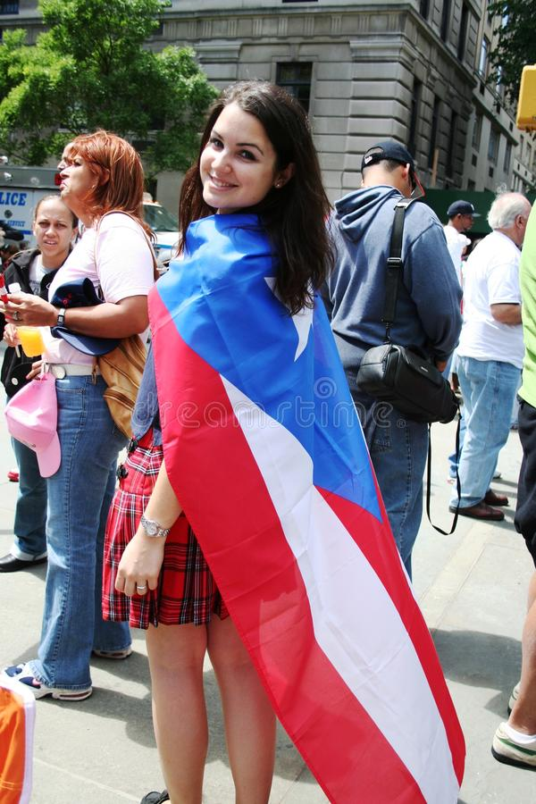 Download Puerto Rican Street Parade editorial stock image. Image of blue - 18760864
