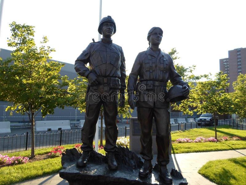 Puerto Rican weteranów pomnik, Boston, Massachusetts, usa zdjęcia royalty free