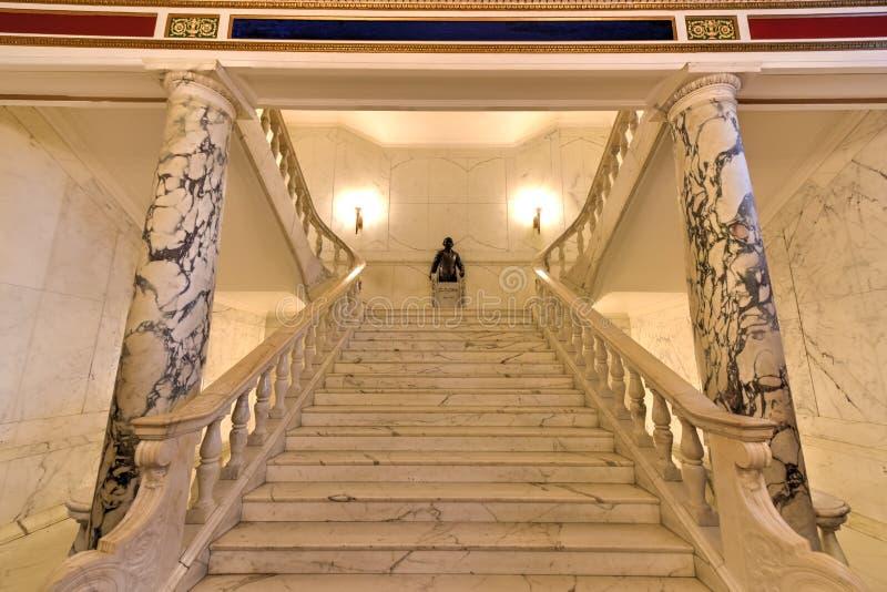 Puerto Rico Capitol budynek - San Juan obraz royalty free