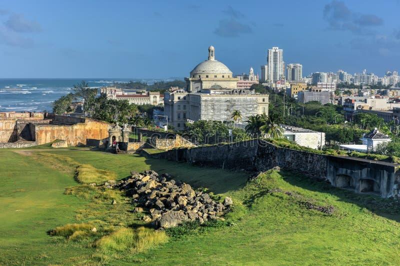 Puerto Rico Capitol Building - San Juan imagen de archivo libre de regalías