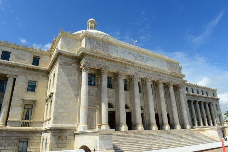 Puerto Rico Capitol, San Juan, Puerto Rico fotos de archivo