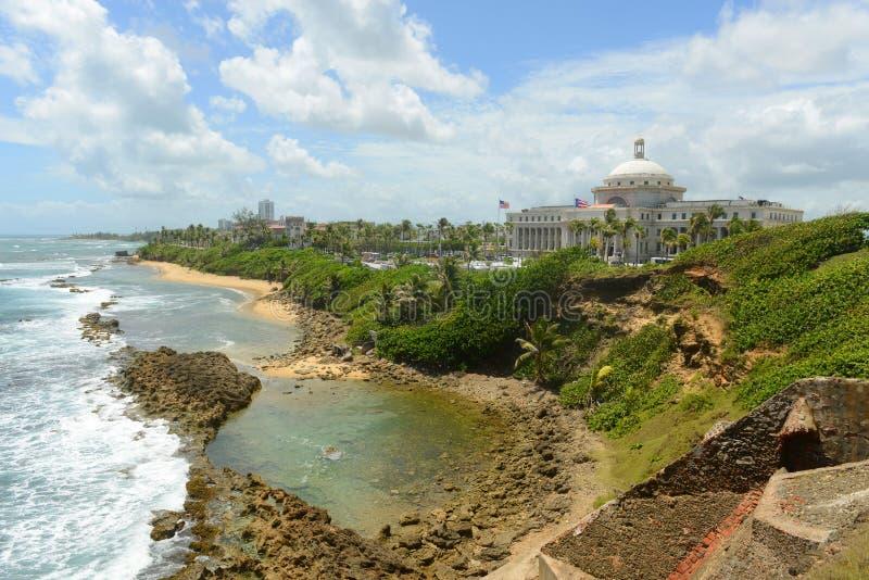 Puerto Rico Capitol, San Juan, Puerto Rico foto de archivo