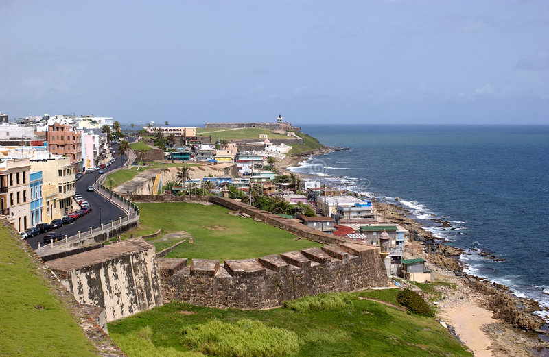 Download Puerto Rico Coast stock image. Image of marine, ruins, resort - 522945