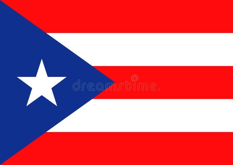 Puerto Rico Flag vector illustration