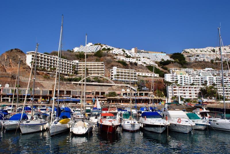 Puerto Rico - Gran Canaria foto de archivo