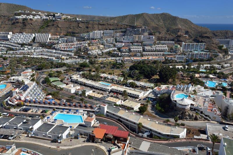 Download Puerto Rico, Gran Canaria redactionele stock foto. Afbeelding bestaande uit baai - 39104233