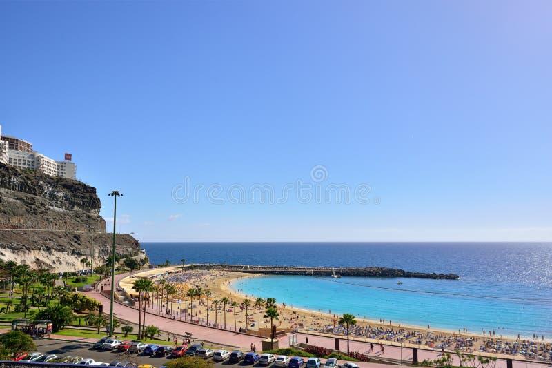 Puerto Rico, Gran Canaria fotografía de archivo