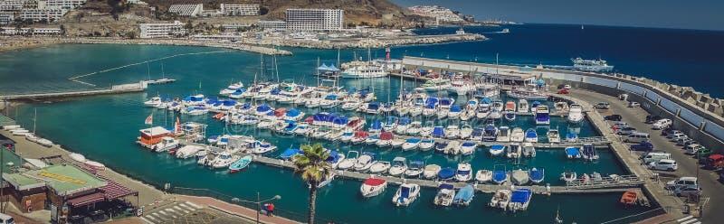Puerto Rico Marina imagem de stock royalty free