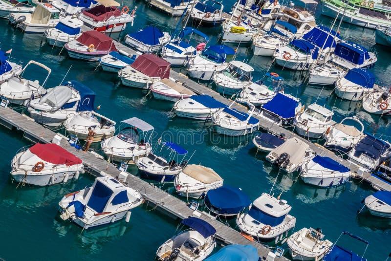 Puerto Rico Marina immagini stock libere da diritti