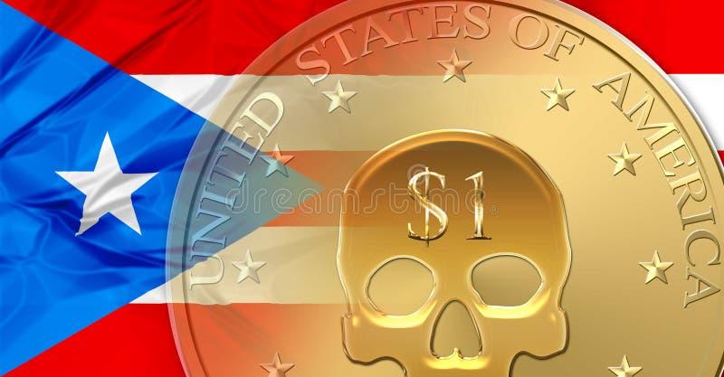 Puerto Rico standard stock illustrationer