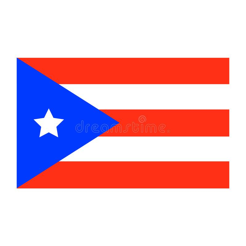 Puerto- Ricostaatsangehöriger Auch im corel abgehobenen Betrag stock abbildung