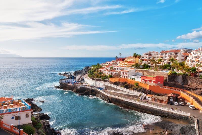puerto Santiago Tenerife obrazy stock