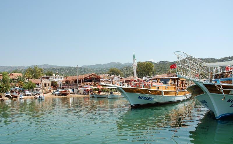 Puerto turco imagen de archivo