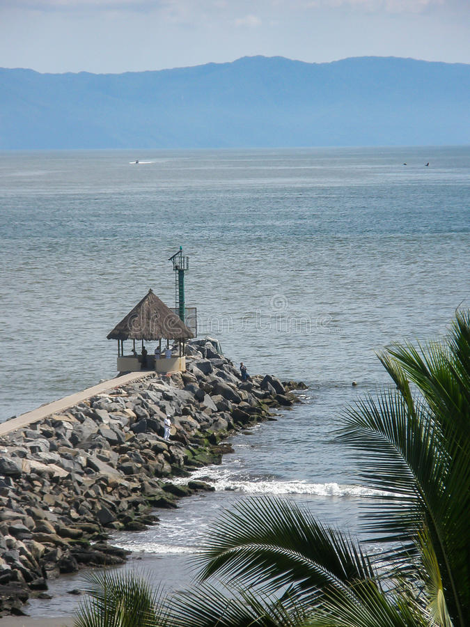 Download Puerto Vallarta foto de stock. Imagem de méxico, rochas - 65575350