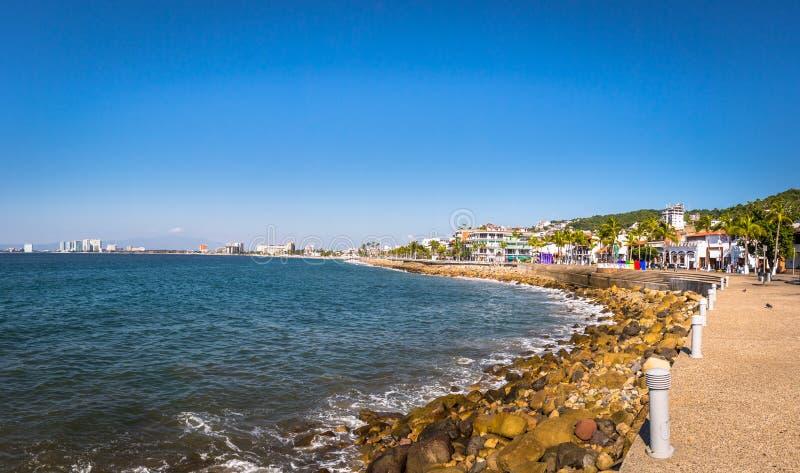 Puerto Vallarta Promenade - Puerto Vallarta, Jalisco, Mexico stock photography