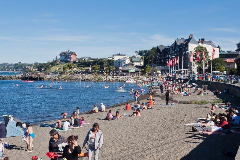 Puerto Varas o Chile imagens de stock royalty free