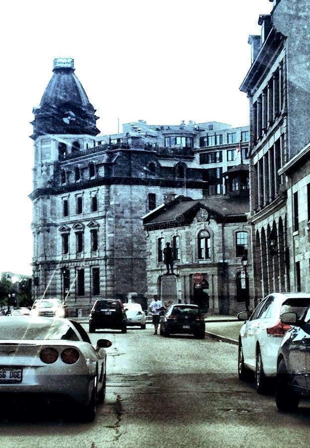 Puerto viejo de Montréal fotos de archivo libres de regalías