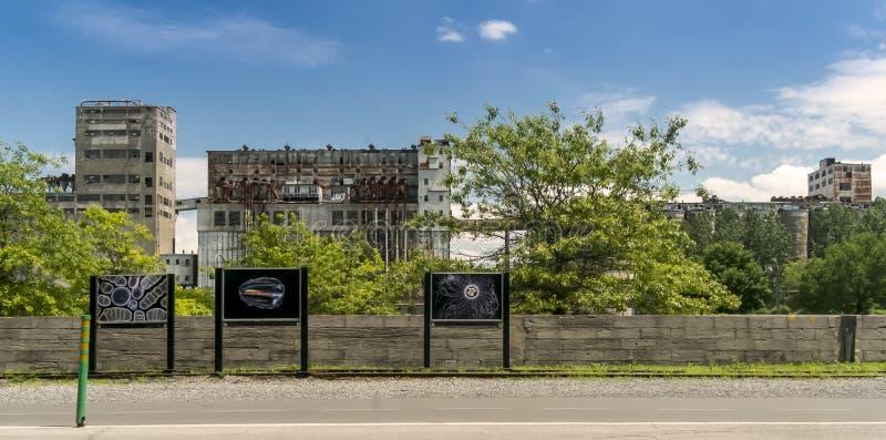 Puerto viejo de Sillot Montreal imágenes de archivo libres de regalías