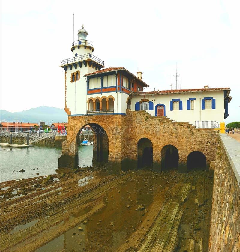 Puerto Viejo hamnstad arkivfoton