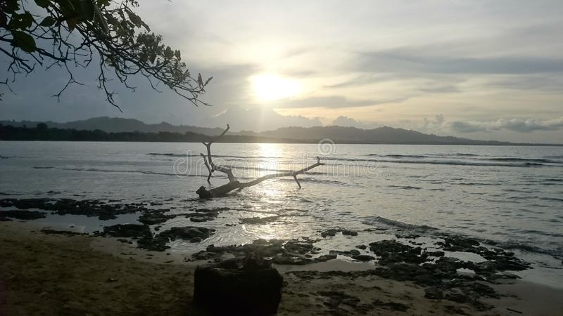 Puerto Viejo, Limà ³ n, Costa Rica obraz royalty free