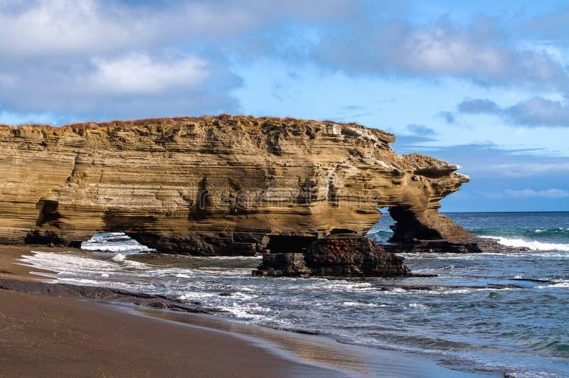 Puertoergas - Santiago Island stock afbeelding