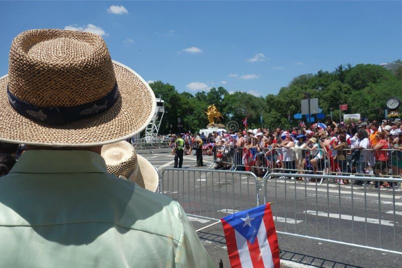 2014 Puertorikaner-Tagesparade stockfotos
