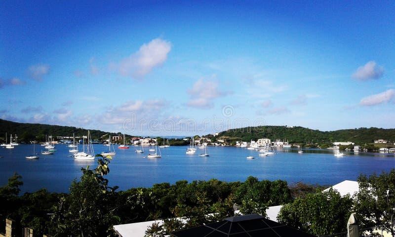 Puertorikanische Himmel lizenzfreie stockfotografie