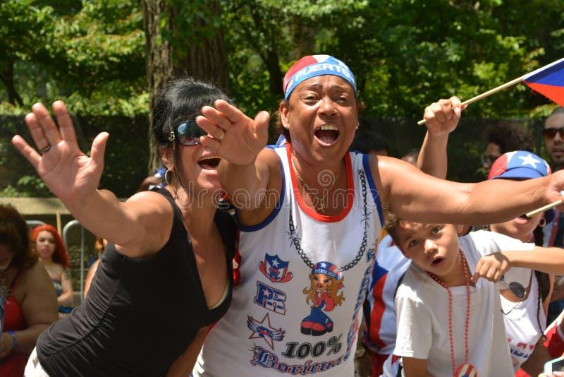 Puertorikanische Tagesparade 2015 stockfotografie